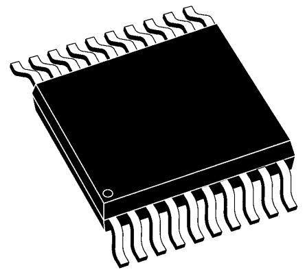 Microchip MCP3901A0-I/SS, Energy Meter Front End, 2-Channel 16 bit, 64ksps SPI, 20-Pin SSOP (2)