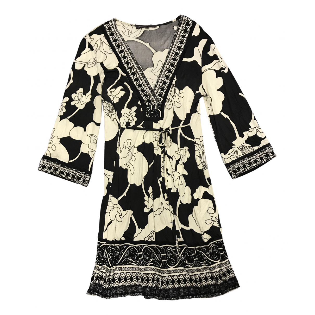 Hale Bob \N Black Silk dress for Women M International