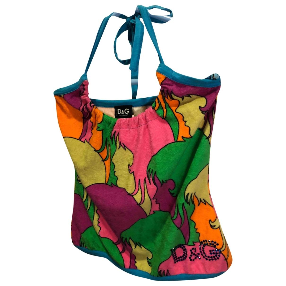 D&g \N Multicolour Cotton  top for Women 38 FR