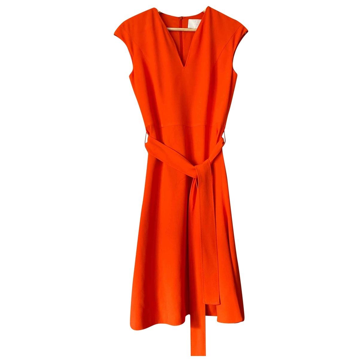 Hugo Boss \N Orange dress for Women 36 FR