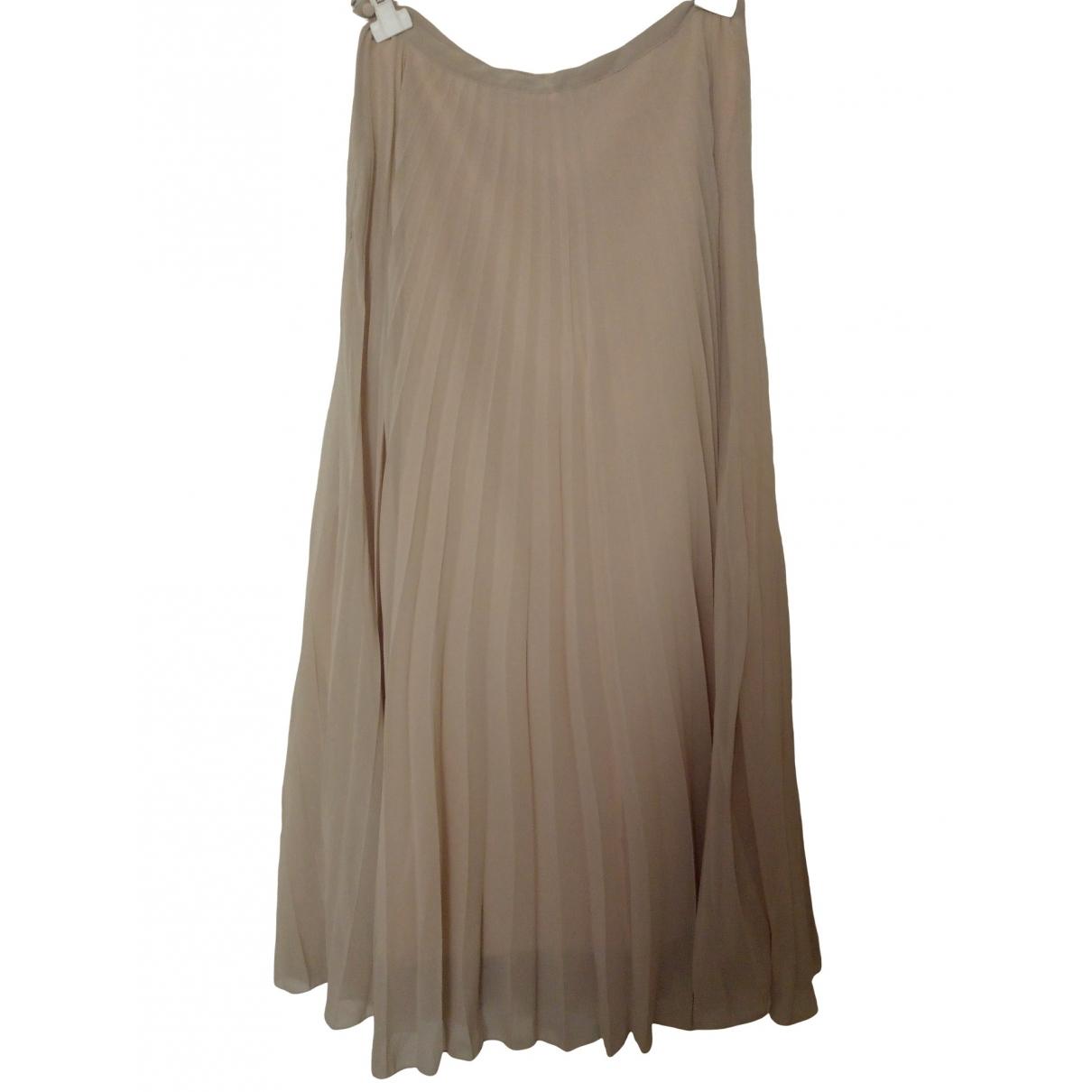 Zara \N Beige skirt for Women M International