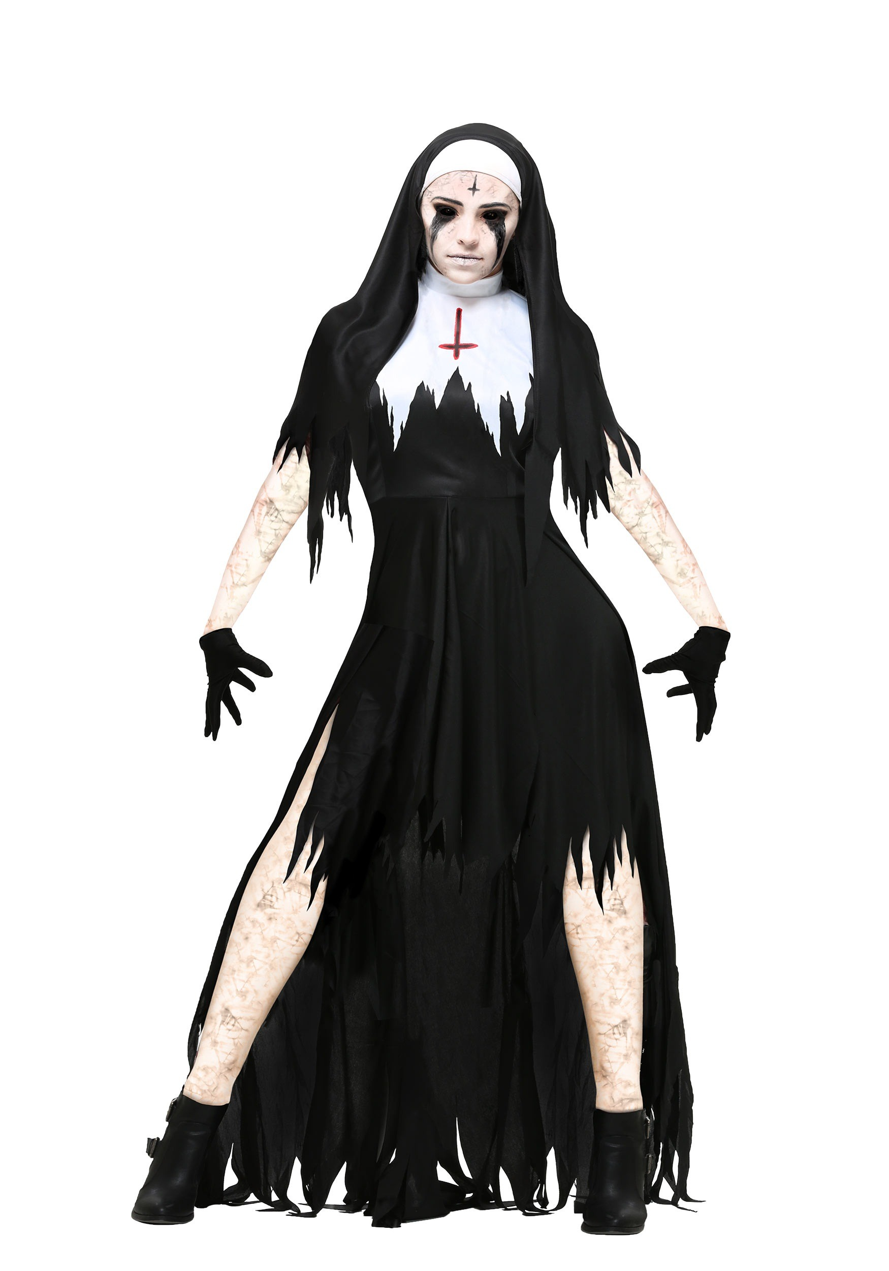 Dreadful Nun Women's Plus Size Costume