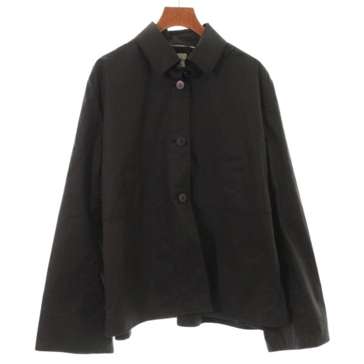 Hermès \N Black Cotton jacket for Women 42 FR