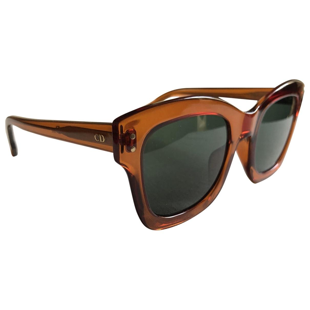 Dior \N Orange Sunglasses for Women \N