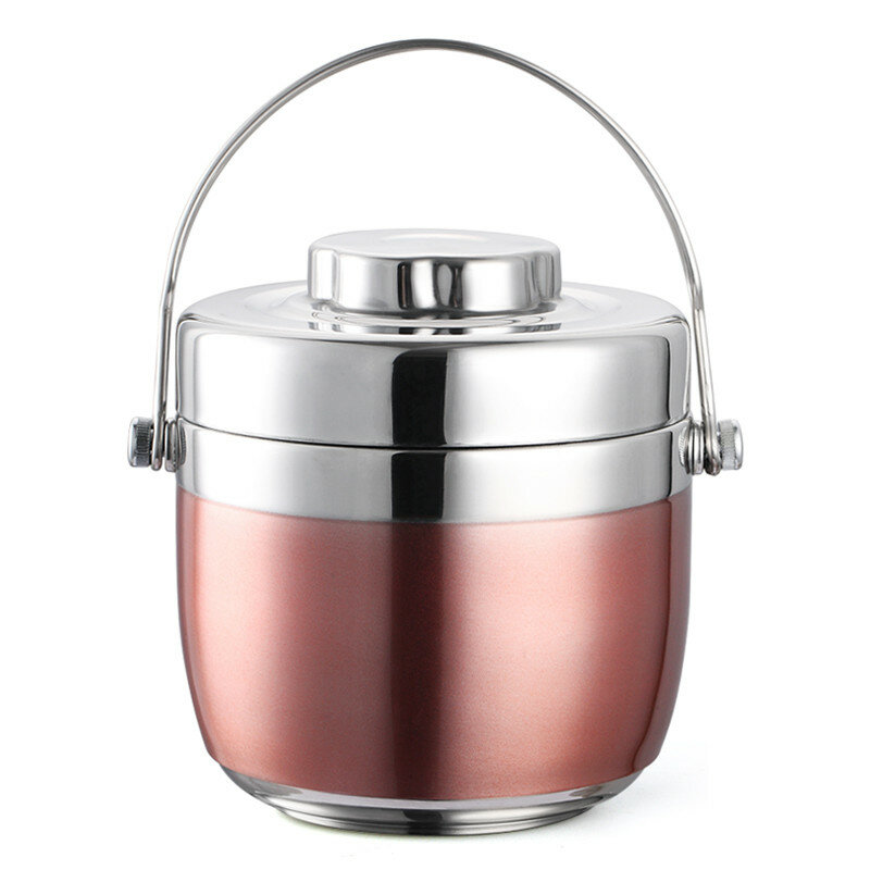 Thermal Lunch Box Office Picnic Portable Stainless Steel Bento Box Fruits Food Container Storage