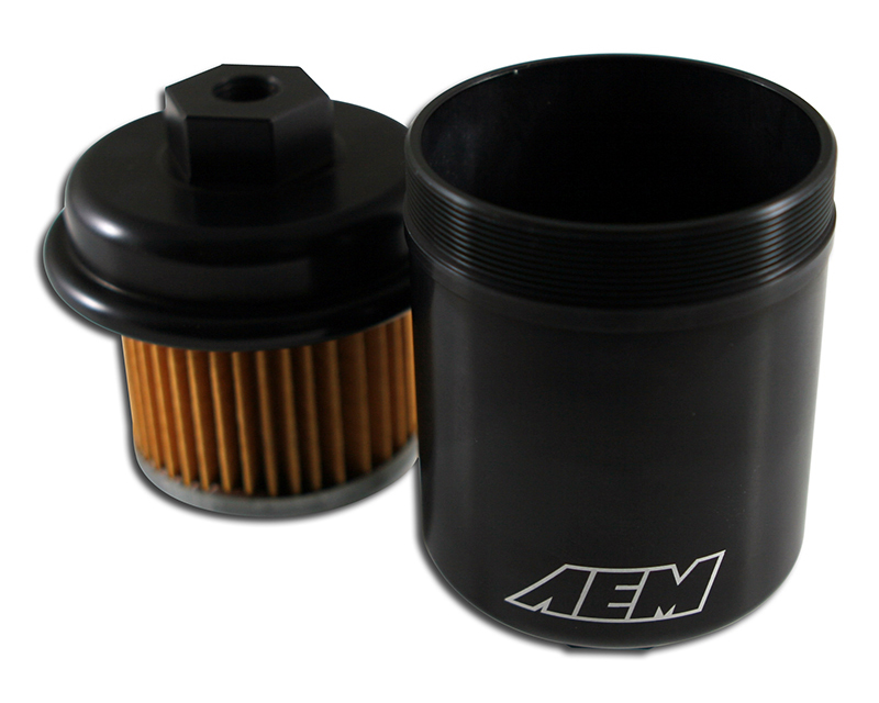 AEM Electronics 25-200BK High Volume Fuel Filter Acura TL Premium 3.2L | 3206ccV6 [C32A6] 96-98