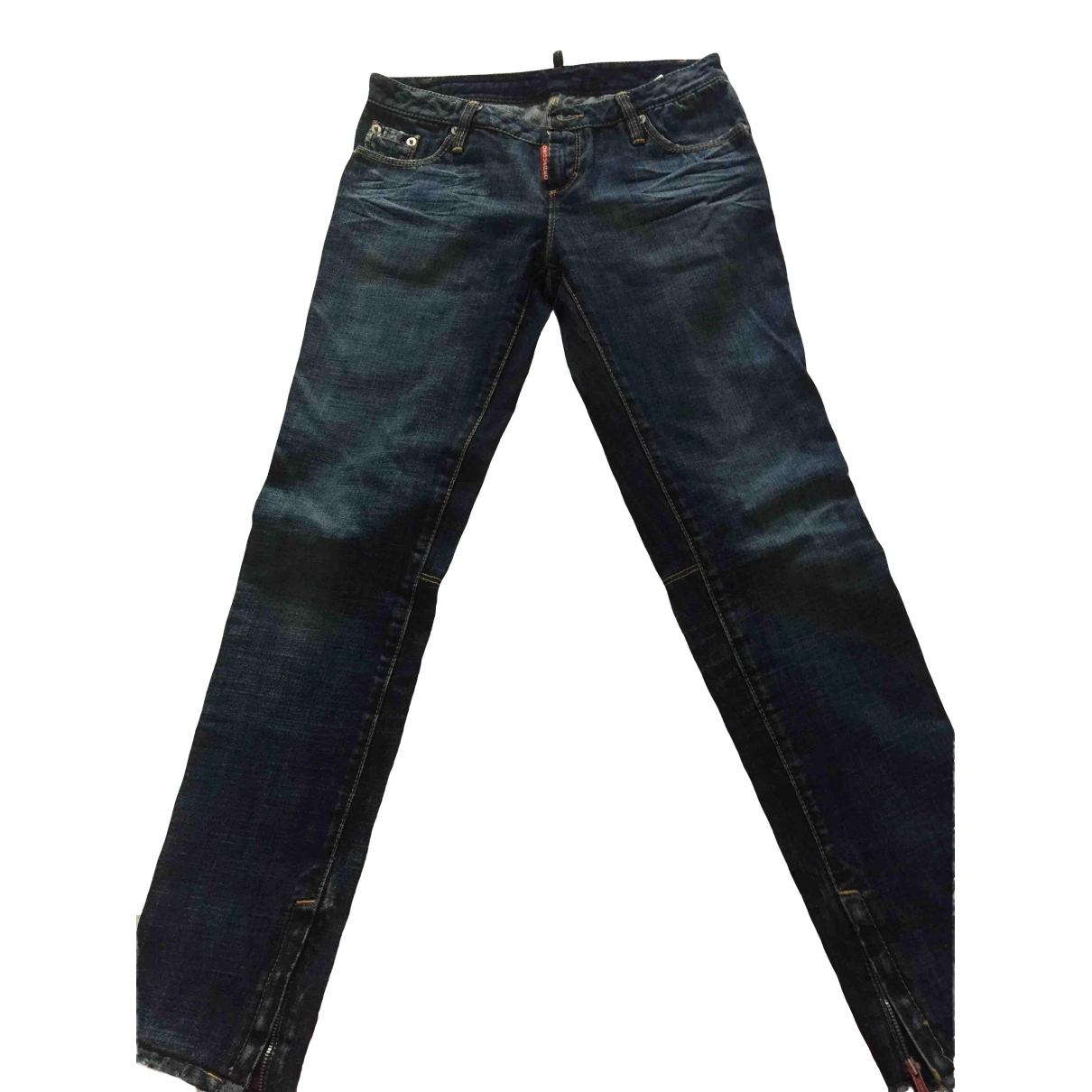 Dsquared2 \N Blue Denim - Jeans Jeans for Women 26 US
