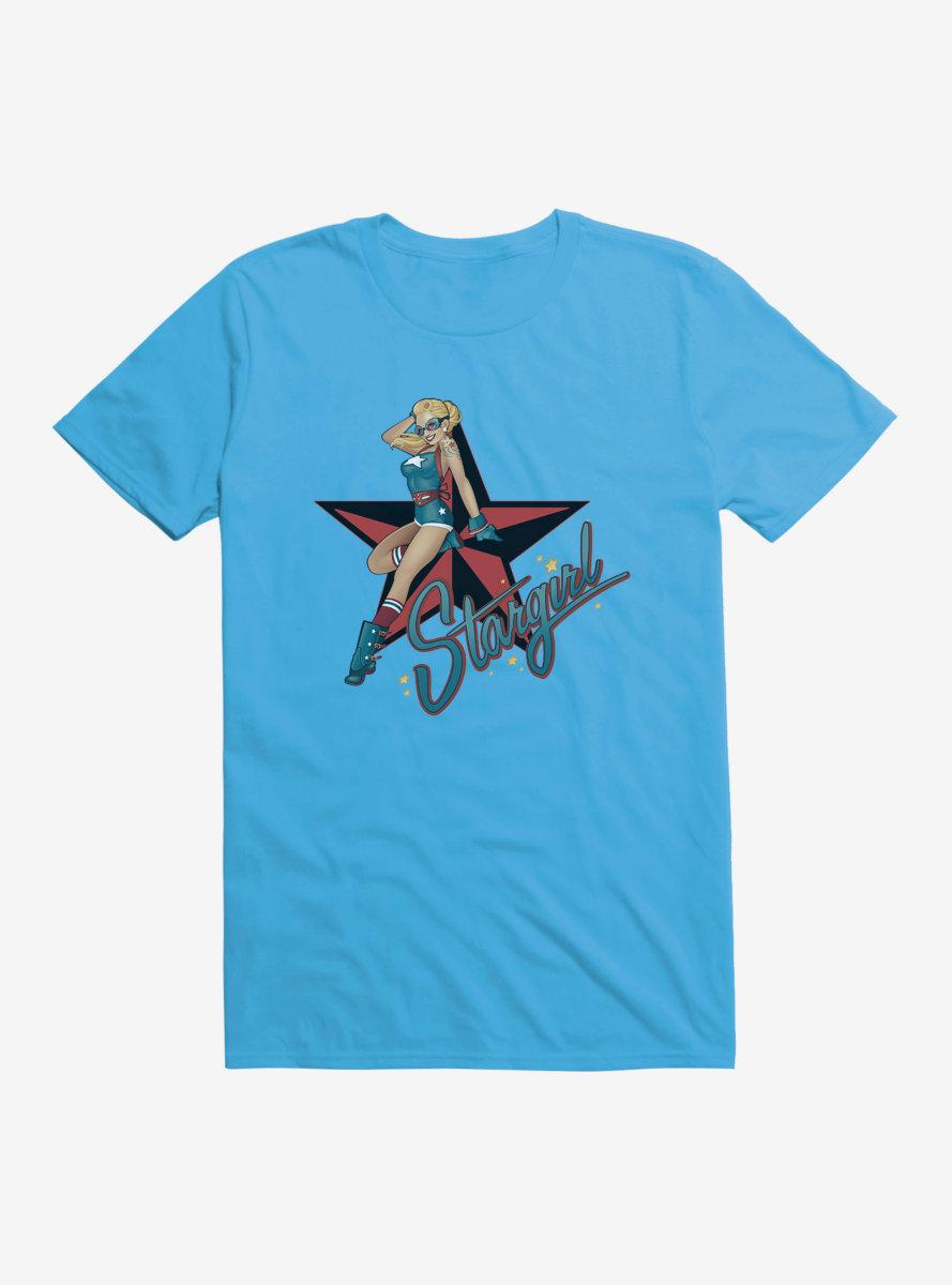 DC Comics Bombshells Meet Stargirl T-Shirt
