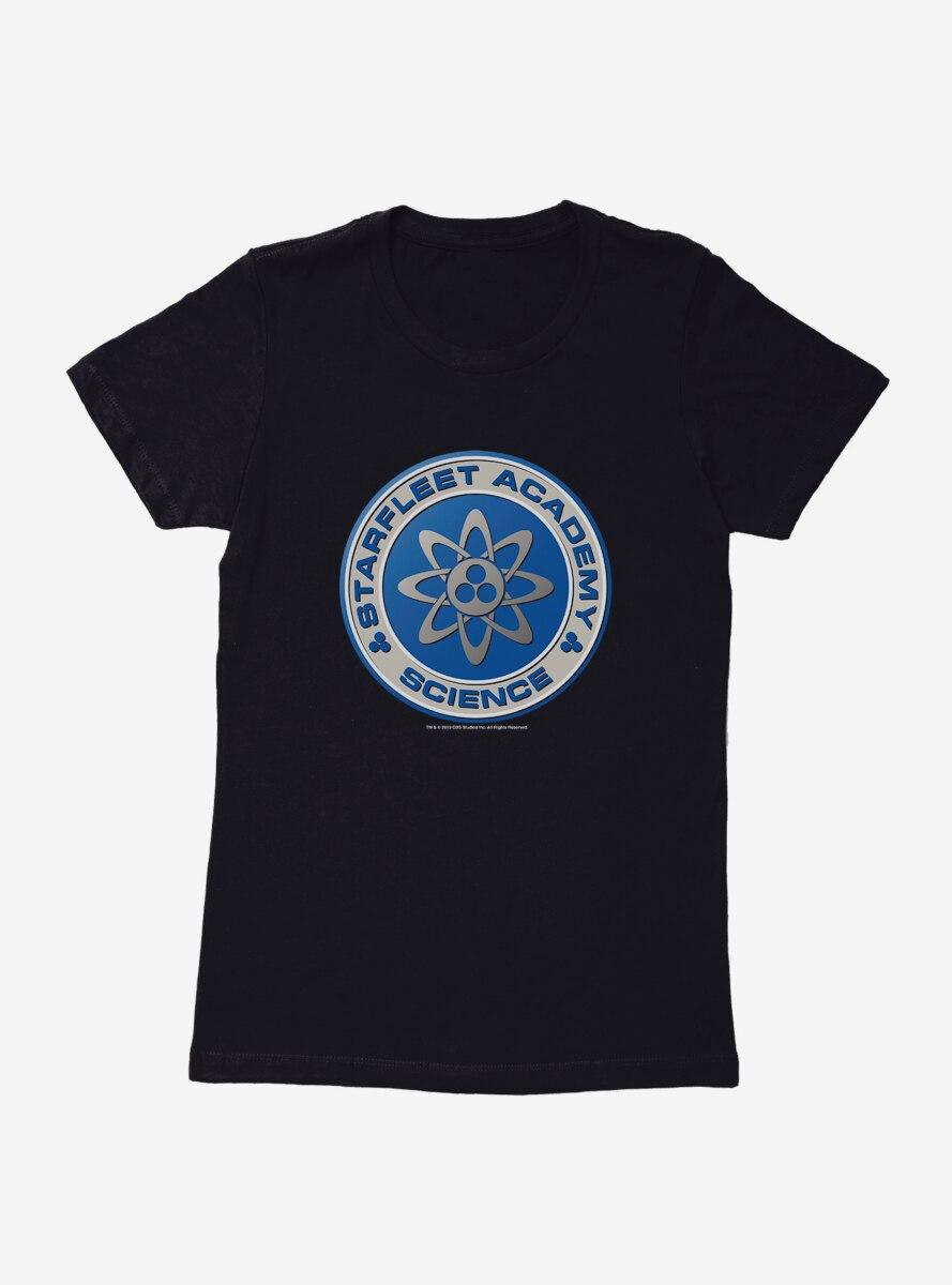 Star Trek Starfleet Academy Science Logo Womens T-Shirt