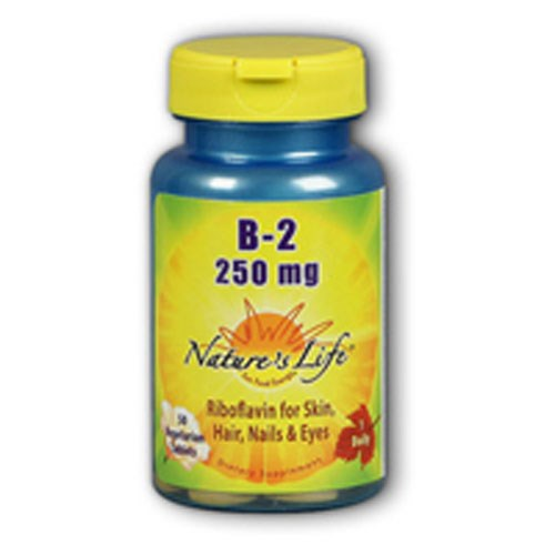 Vitamin B-2 100 tabs by Nature's Life