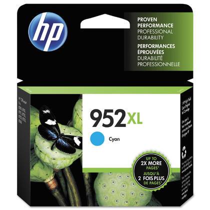 HP 952XL L0S61AN cartouche d'encre originale cyan haute capacité
