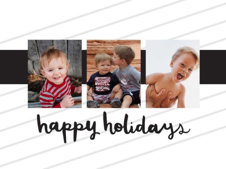 Holidays Designer Ornament (Metal), Gift -Ink Sentiments