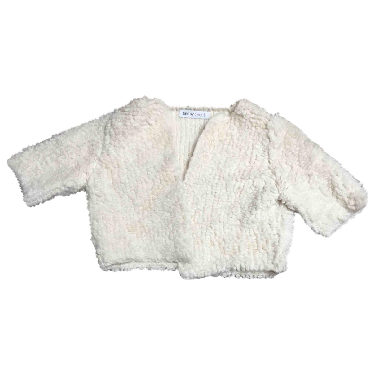 See By Chloé \N White Wool Knitwear for Women 34 FR