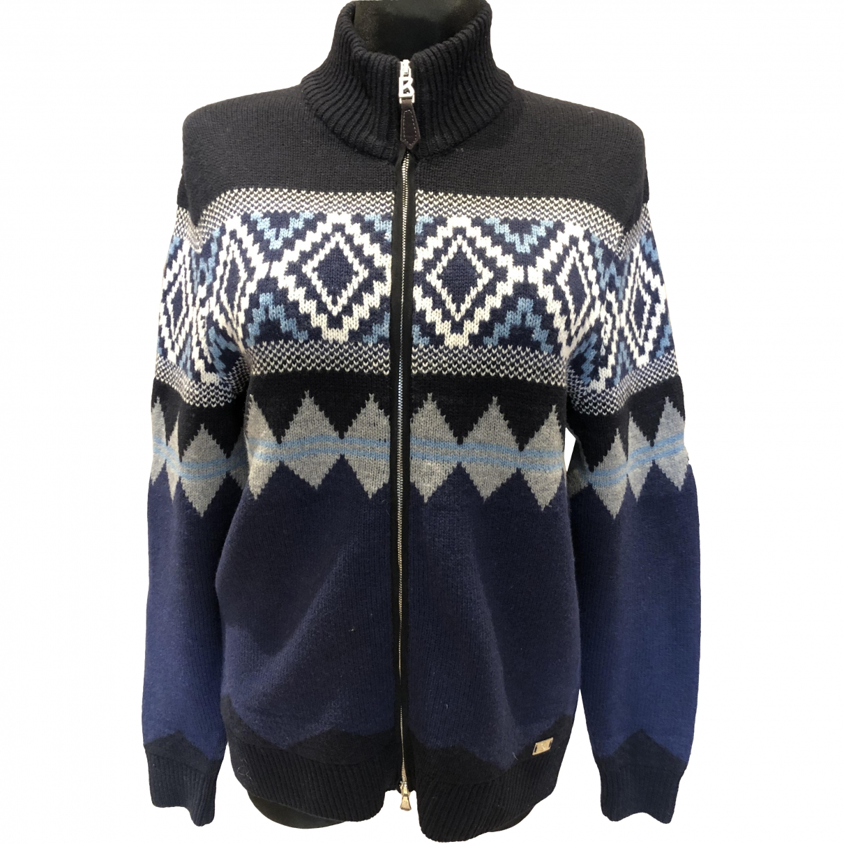 Bogner \N Blue Wool Shirts for Men M International