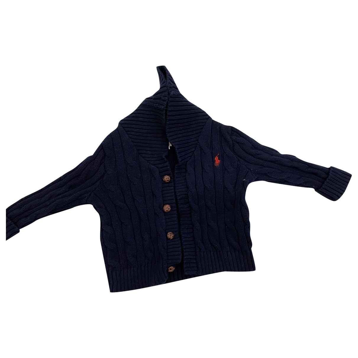 Polo Ralph Lauren \N Blue Wool Knitwear for Kids 9 months - until 28 inches UK