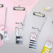1pc Random Cat Claw Pattern Clipboard