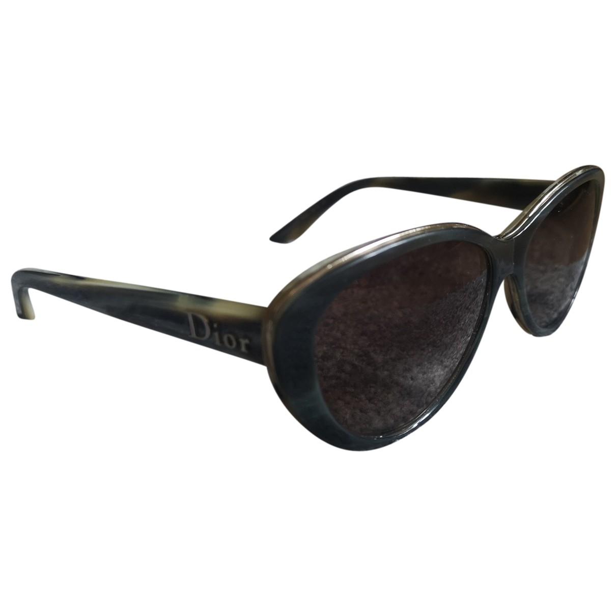 Dior \N Green Sunglasses for Women \N