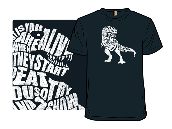 Jurassic Respect T Shirt