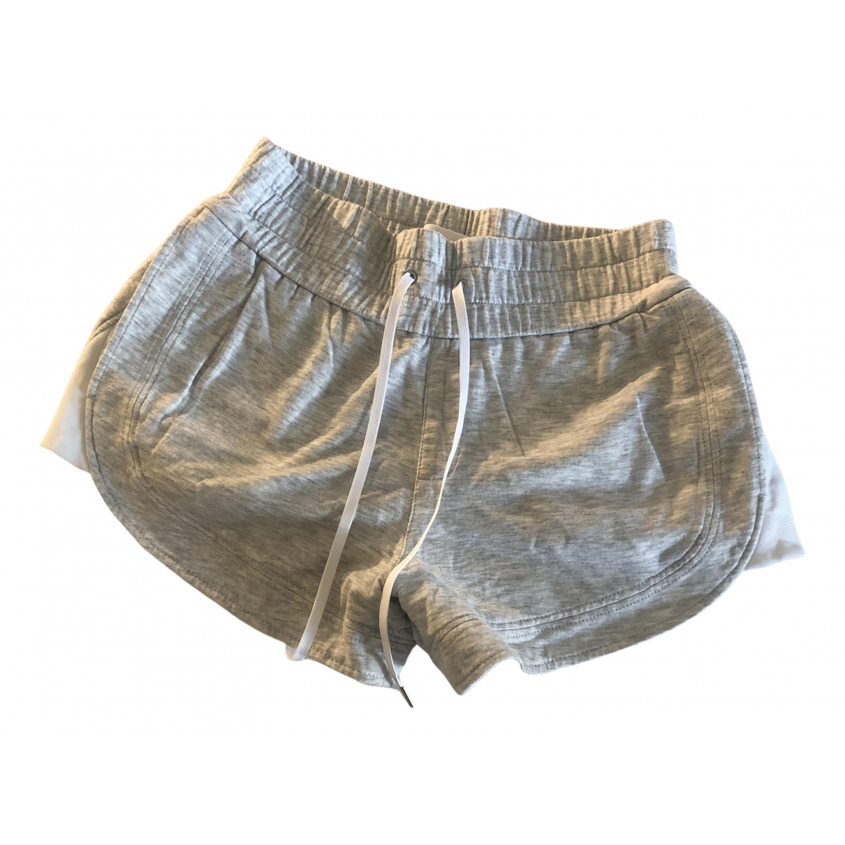 Helmut Lang \N Grey Cotton Shorts for Women 0 0-5
