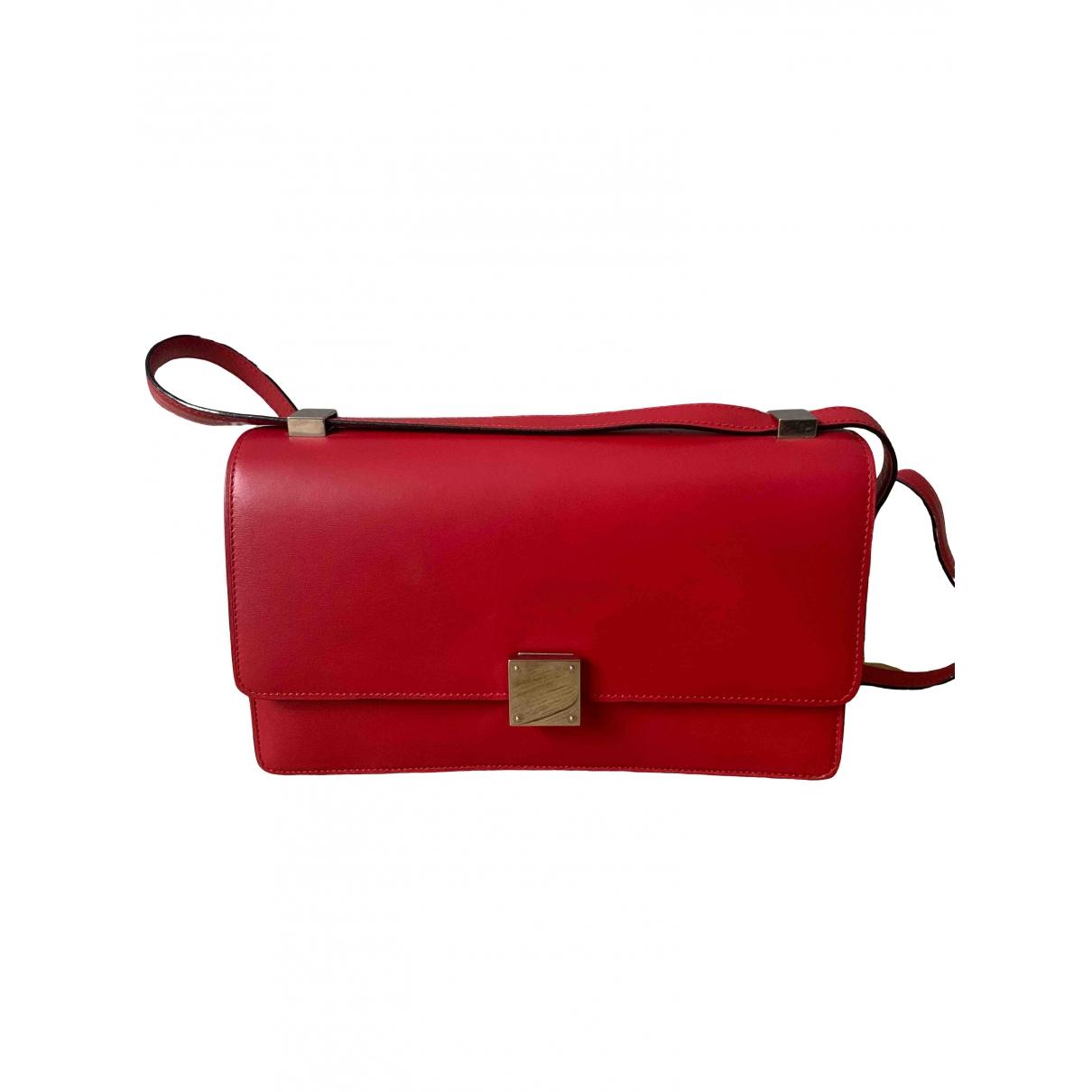 Celine Case flap Pink Leather handbag for Women \N
