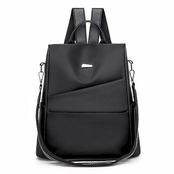Women Nylon Anti theft Water-resistant Large Capacity Backpack Casual Shoulder Bag