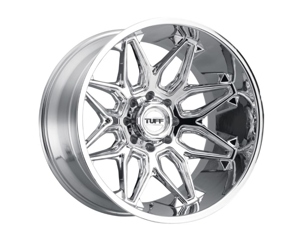 TUFF T3B Wheel 20x12 8x165.10|8x6.5 -45mm Chrome