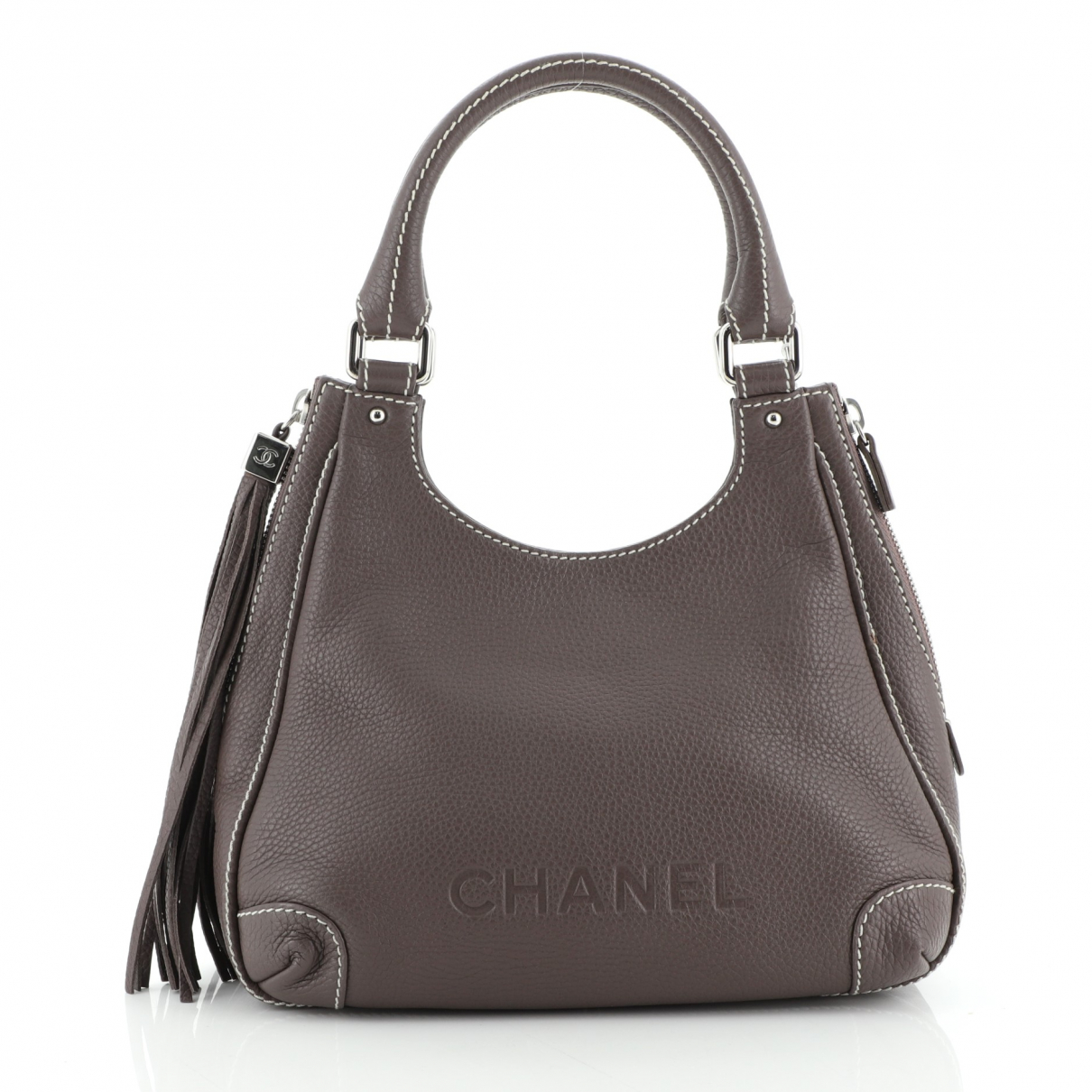 Chanel \N Brown Leather handbag for Women \N