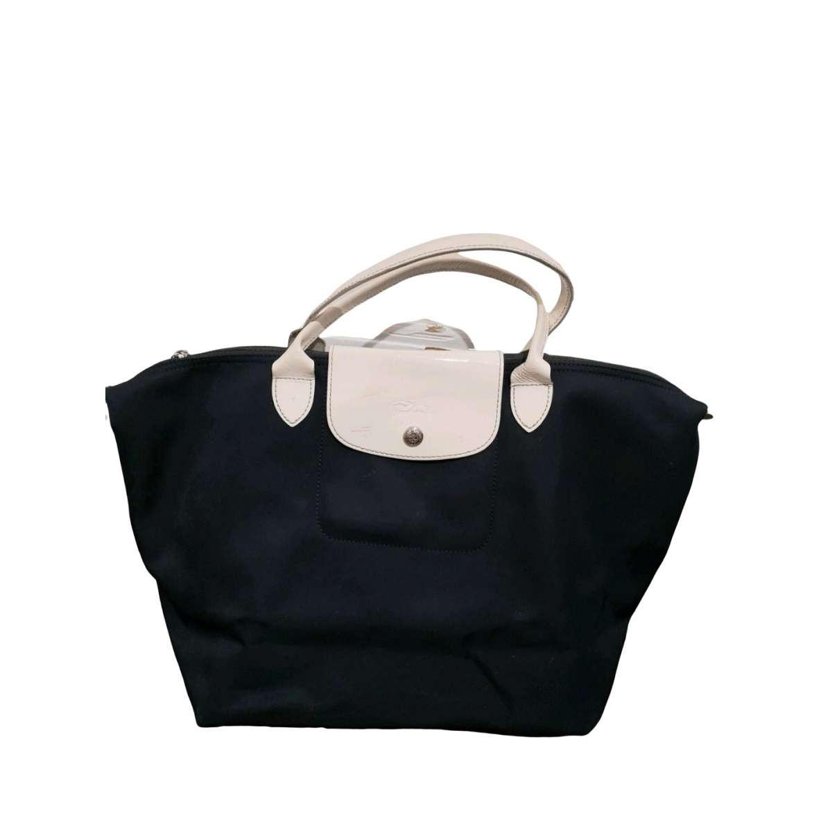 Longchamp Pliage  Blue Cloth handbag for Women \N