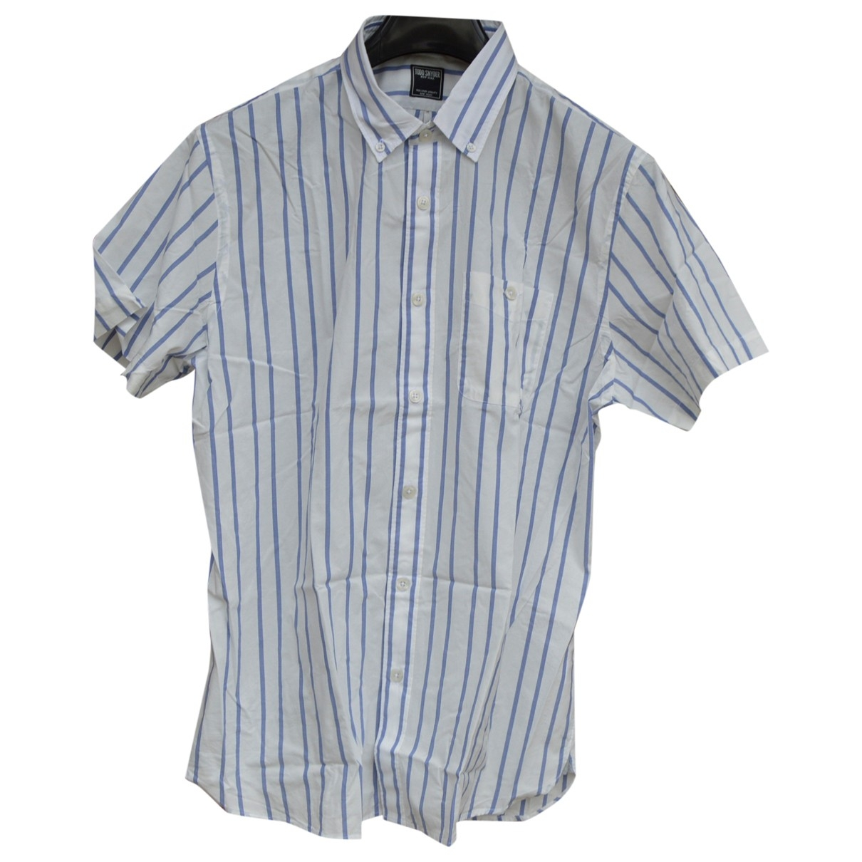 Non Signé / Unsigned \N White Cotton Shirts for Men L International
