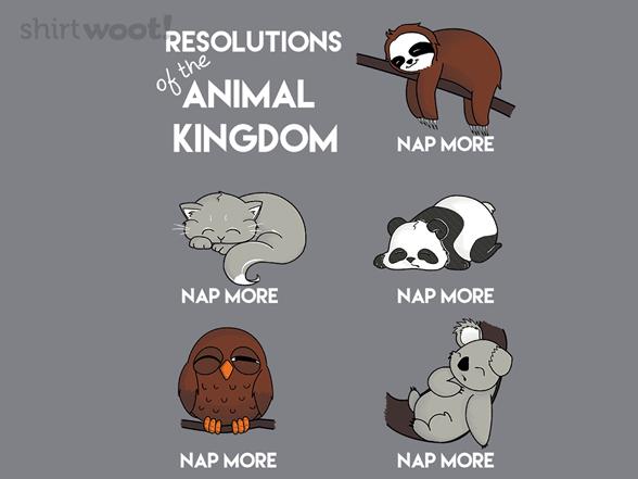 Nap More T Shirt