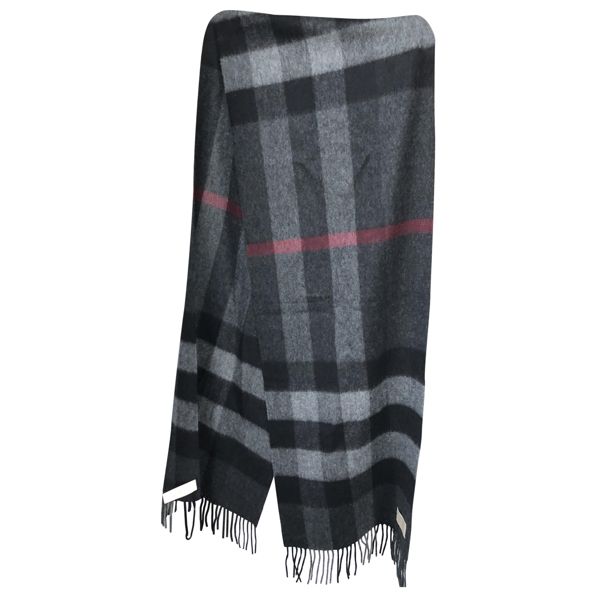 Burberry \N Black Cashmere scarf for Women \N