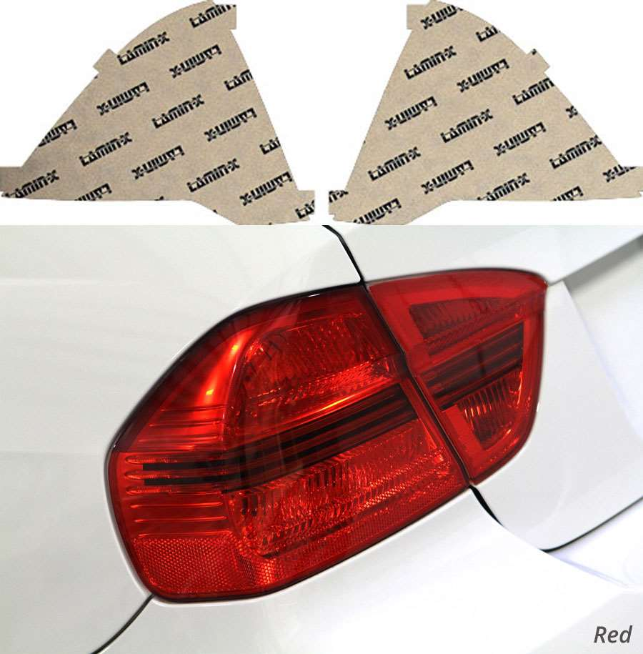 Ford Fusion 10-12 Red Tail Light Covers Lamin-X F229R