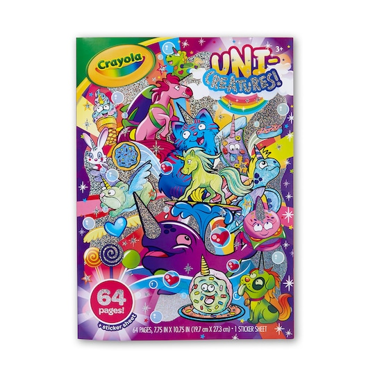 Crayola® Uni-Creatures Coloring Book | Michaels®