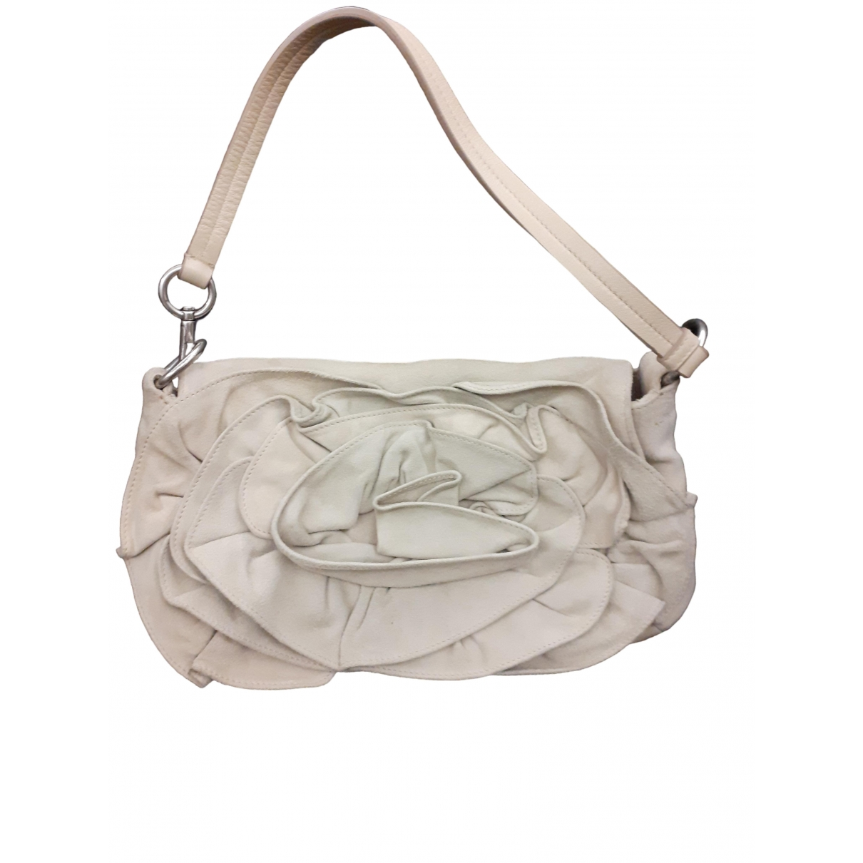 Yves Saint Laurent \N Beige Suede handbag for Women \N