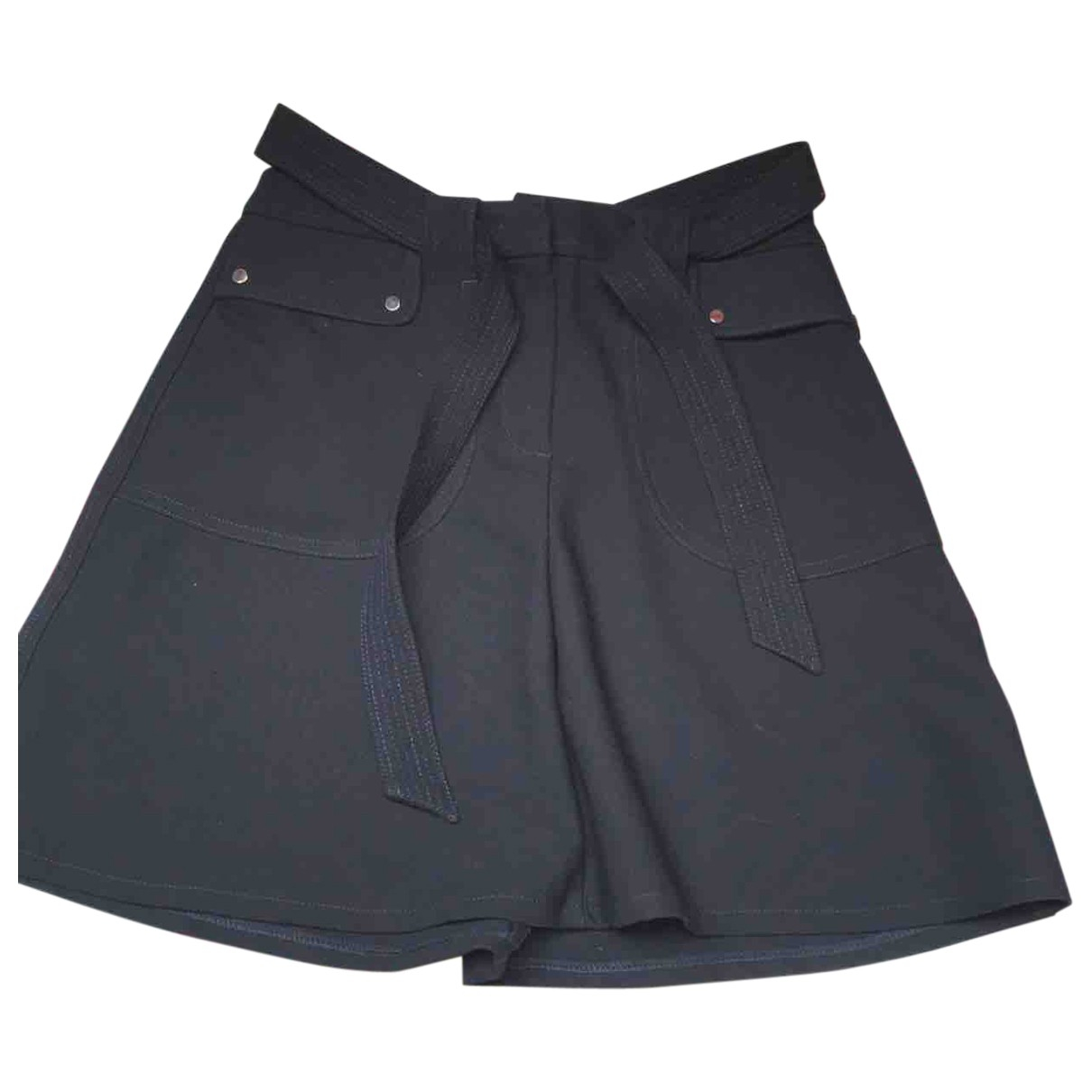 Maje \N Navy skirt for Women 38 FR