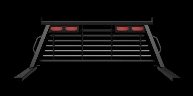 B&W Trailer Hitches PUCP7522BA Cab Protector, Black