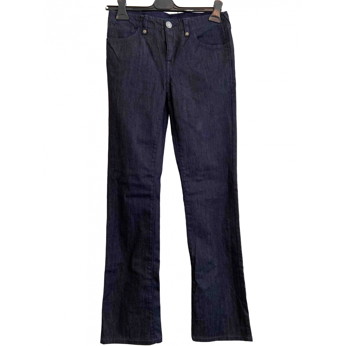 Emporio Armani \N Navy Denim - Jeans Jeans for Women 27 US