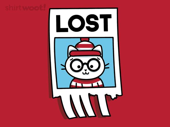 Where's The Cat? T Shirt