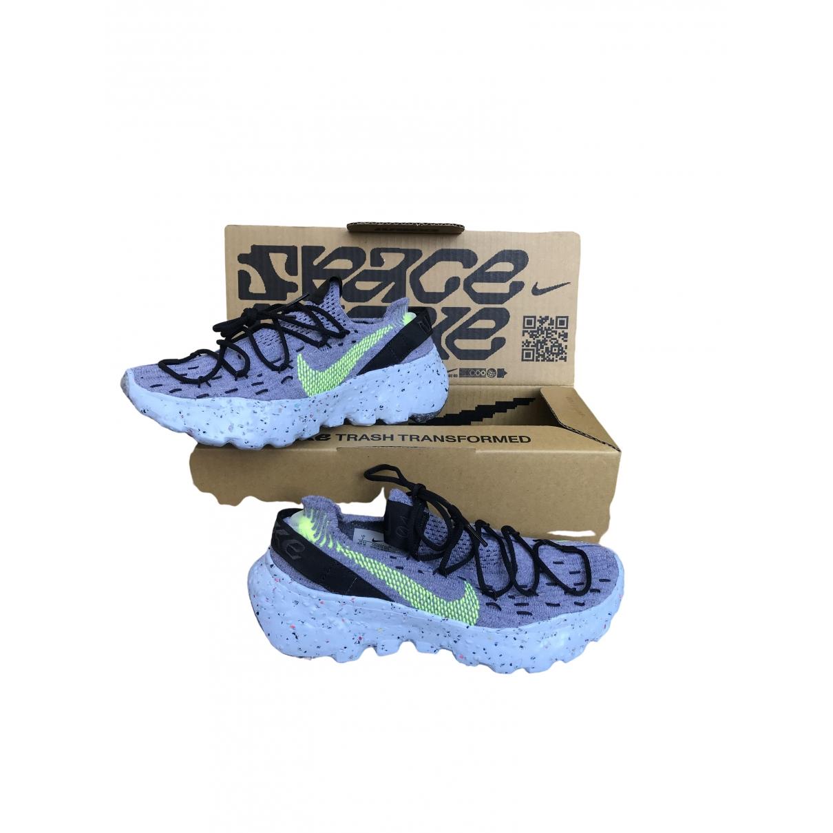Nike \N Sneakers in  Grau Kunststoff