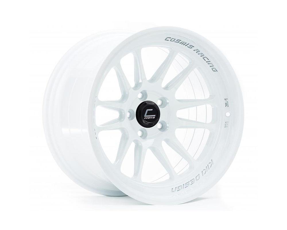 Cosmis Racing XT206R-1895-10-5x114.3-W XT-206R Wheel 18x9.5 5x114.3 +10mm White