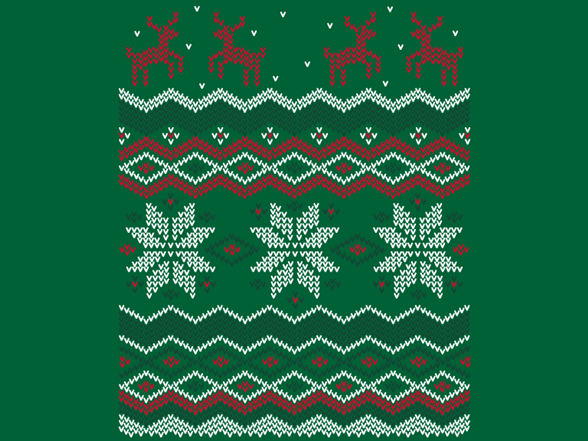 Ugly Holiday Sweater: 2007 T Shirt