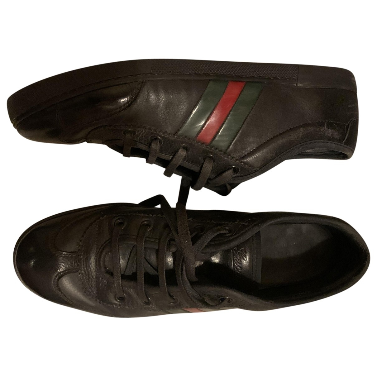Gucci \N Black Leather Trainers for Women 39 IT