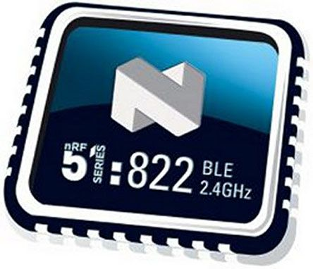 Nordic Semiconductor NRF51822-QFAB-T, Bluetooth System On Chip SOC for Beacons, Computer Peripherals, I/O Devices, (5)