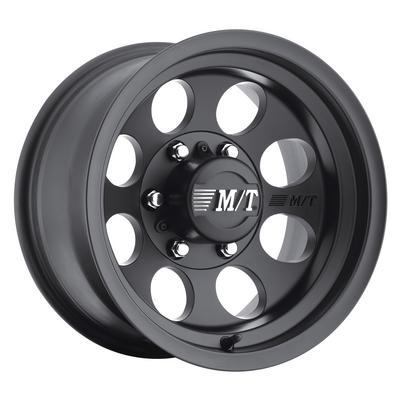 Mickey Thompson Classic III, 17x9 Wheel with 8 on 6.5 Bolt Pattern - Black (2479482) - 90000001797