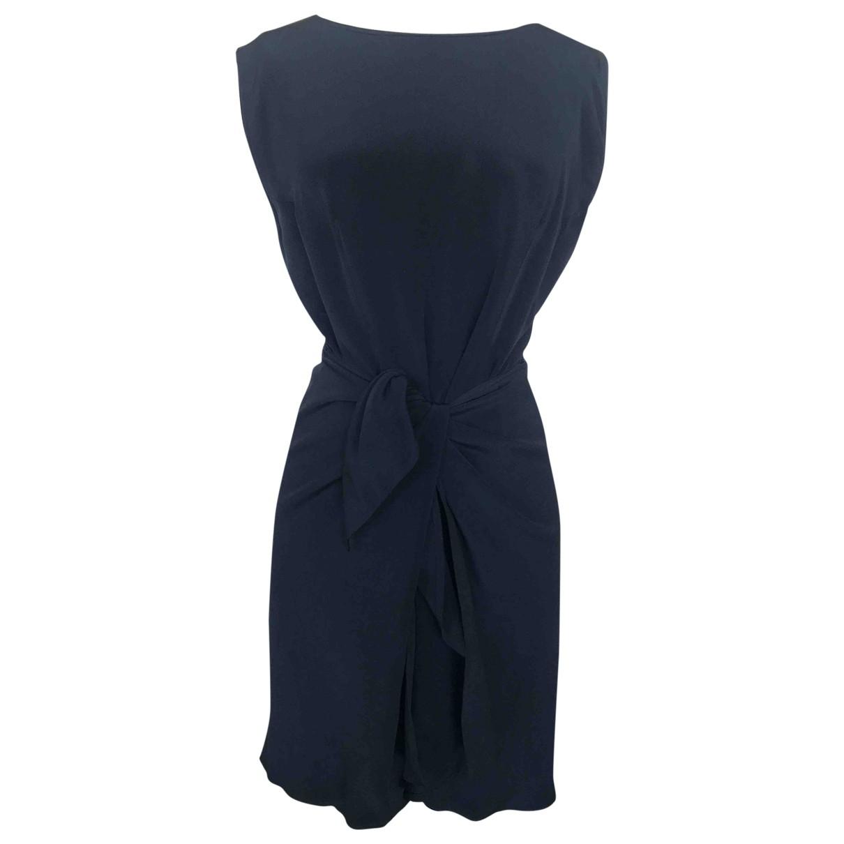 Etro \N Blue Silk dress for Women 46 IT