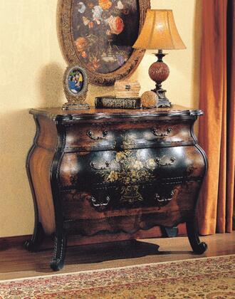 BM159992 Imperial Wooden Chest  Antique Black & Oak