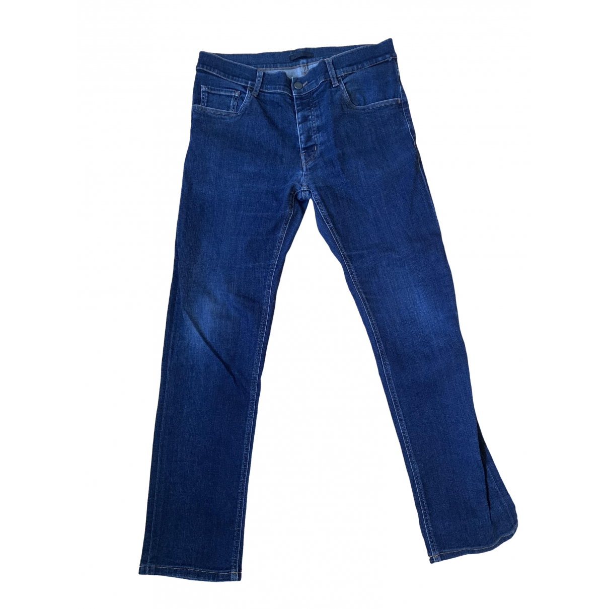 Prada \N Blue Cotton Jeans for Men M International