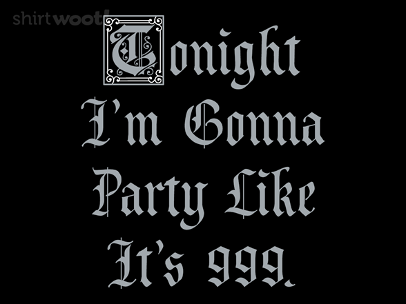 Medieval Party T Shirt