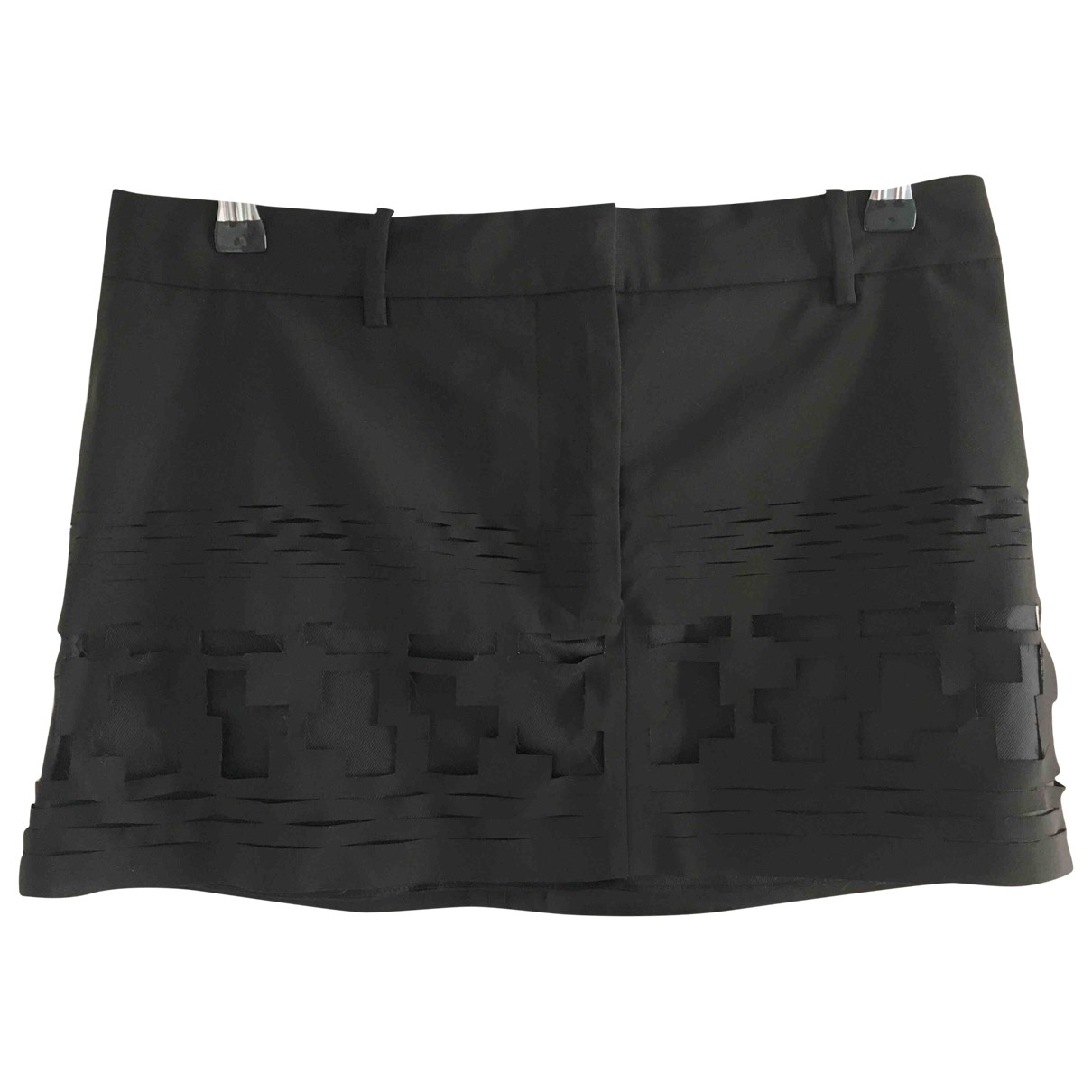 Acne Studios \N Black Wool skirt for Women 36 FR