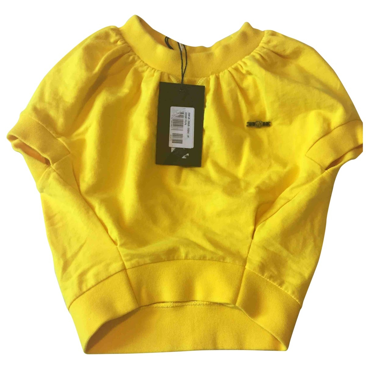 Dsquared2 \N Yellow Cotton  top for Kids 4 years - up to 102cm FR